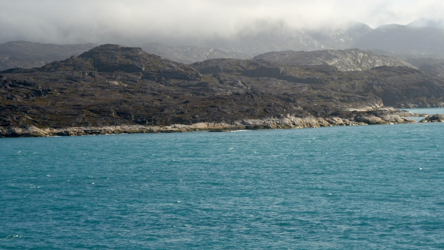 Another view of the Greenland coastline.