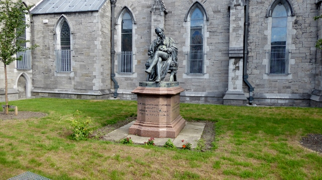 Statue of Sir Benjamin Lee Guinness on the grounds of St. Patrick's.