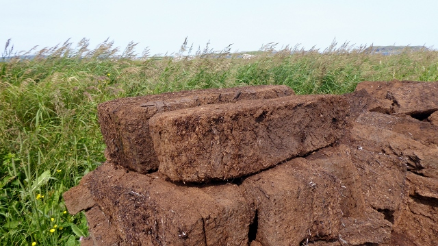 Sod foundations are made of peat.