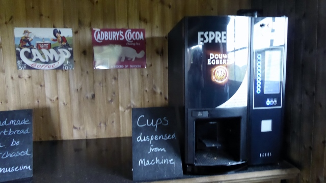 Ah, here is the coffee shop at the Skye Museum of Island Life!
