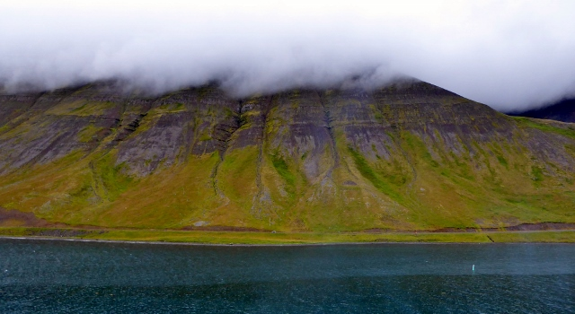 And this is our final view of Isfjordur, Iceland.