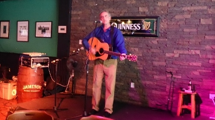 Live entertainment is provided by by Kevin Joyce.