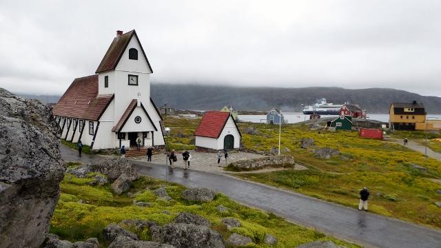 The Nanortalik Kirke was built 1n 1916.