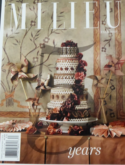 Milieu Magazine, Fall 2018, 5th anniversary issue.