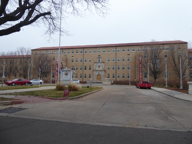 The old Lowry  AFB Headquarters building is now an apartment complex!