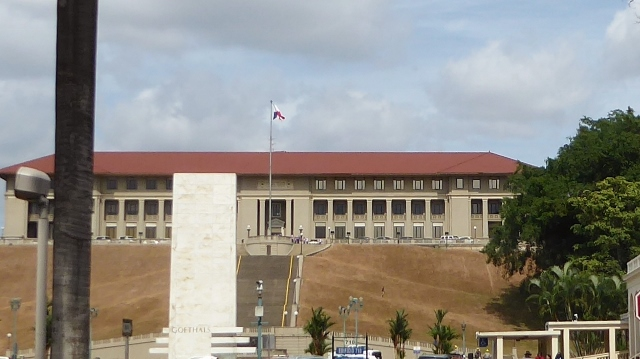 The old Panama Canal Headquarters.