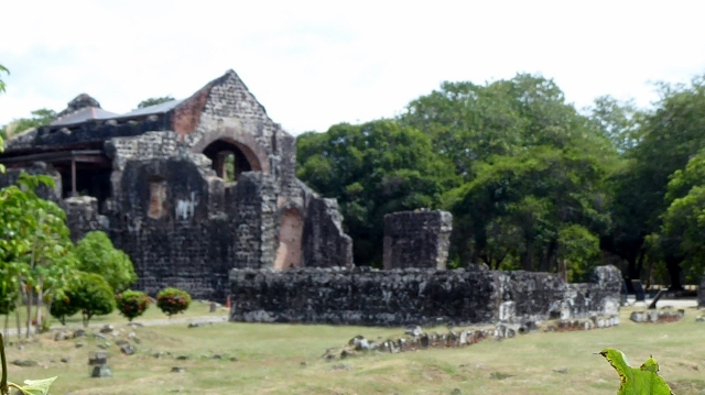 Ruins of the Convent of the Conception in Panama Viejo