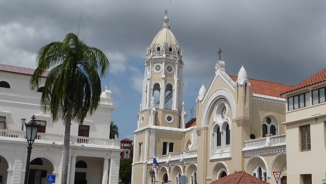 Church of St. Francis in Casco Viejo (old town).