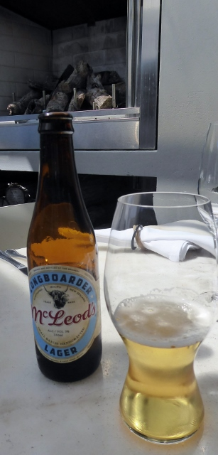 Rog's McLeod's lager.