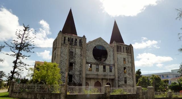 Centennial Church, Free Church of Tonga damaged by Cyclon Gita in 2018