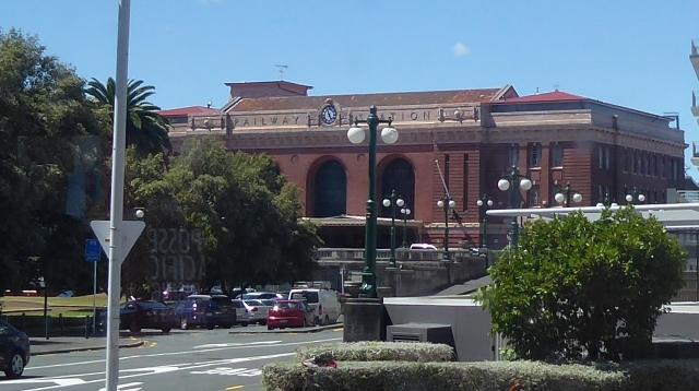 We passed the old Railway Station on the way to the dock.