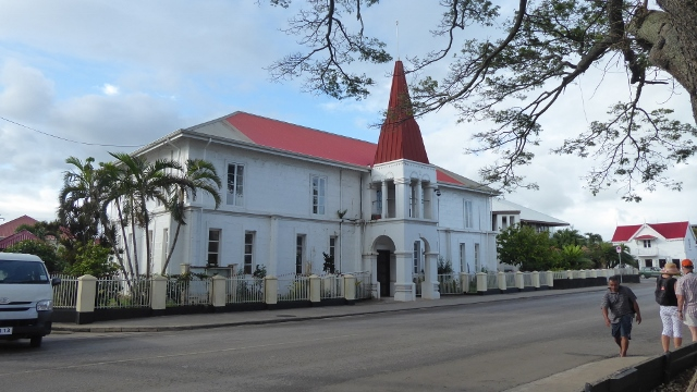 The Prime Minister's Office is the oldest government building in Tonga.
