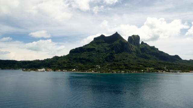 Mount Otemanu dominates the island.