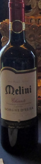 First up is a Chianti.  Melini, Borghi D' Elsa.