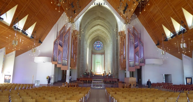 The magnificent altar of Holy Trinity Cathedral..