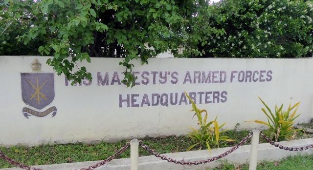 The military headquarters are still located in Nuku Alofa.