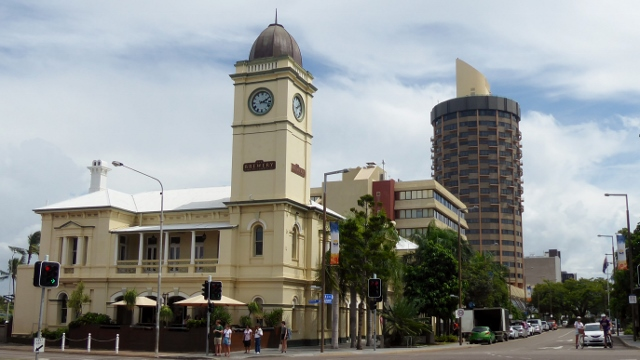 The Old Post office Building, now the Townsville Brewing Company.