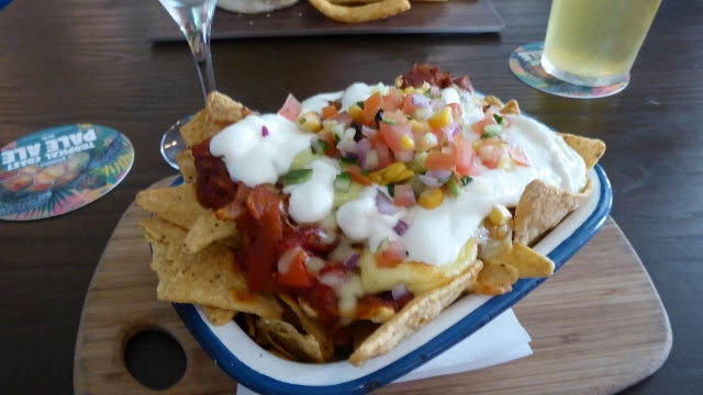 And the nachos are pretty good, too!