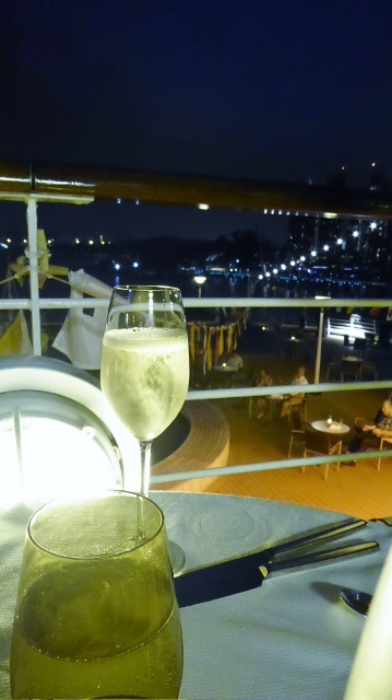 Champagne Under the Stars aboard the MS Amsterdam.