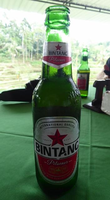 Bintang Beer is a Pilsner brewed on the island of Java in Indonesia.