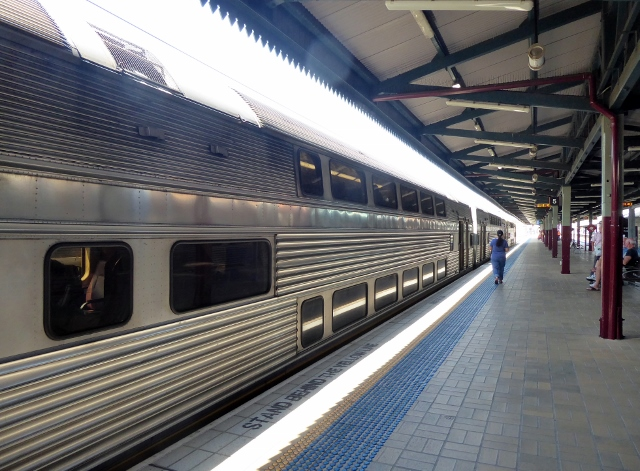 And we boarded the 10:20 to Katoomba!