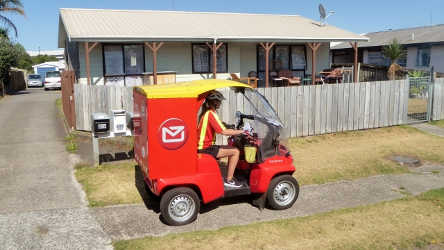 Look at this!  Mail Delivery--New Zealand style!