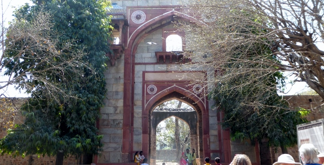 This is the Bu Hylima Gateway to Humayun's Tomb.