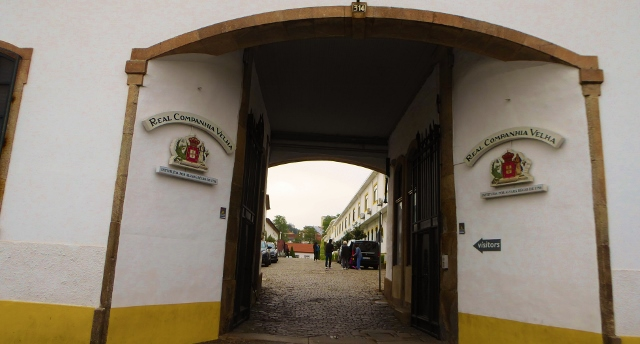 Our first tasting is at Real Companhia Velha, established in 1756.