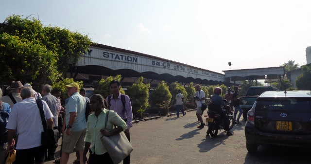 And we arrive at Colombo Fort Railway Station.