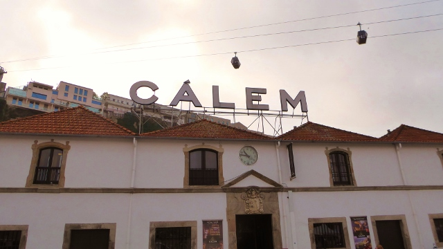 Our 2nd tasting is at the Calem lodge.
