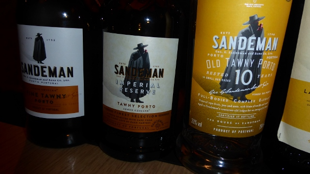 .....and 3 tawny ports.