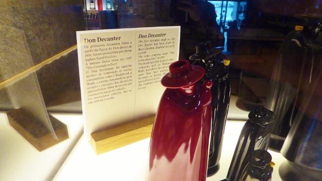 We bought the Phantom decanter of port at Sandeman!