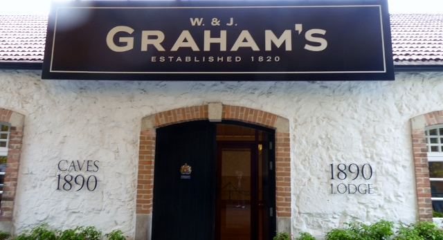 Our final tasting at Graham's  cost 15 Euro/pp.