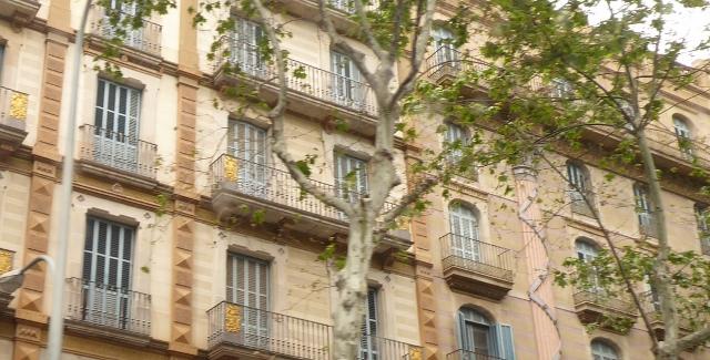 The Balconies of Barcelona