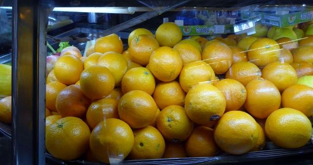 Fruits awaiting the juicer.....