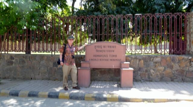 Soon, we reach Humayuns Tomb.