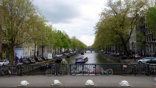 Fittingly, we crossed several canals as we shuttled to the Rijks Museum.