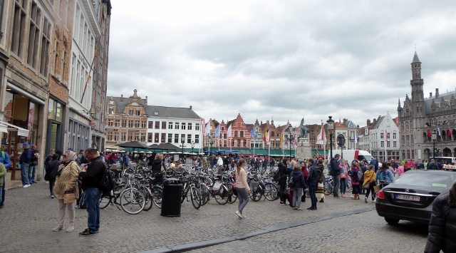 And then we arrive in Markt Square!