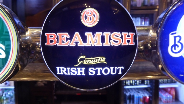 Rog ordered a Beamish Irish Stout.