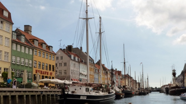 The canal tours are a great way to see the sites of Copenhagen.