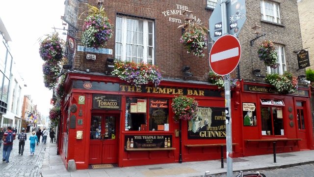 The Temple Bar in Temple Bar
