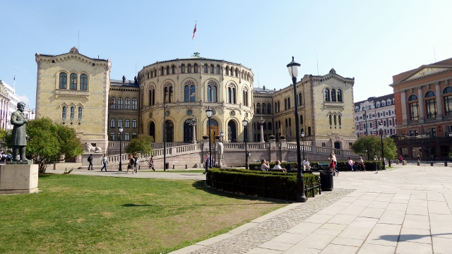 The Parliament Buildig.