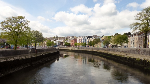 We crossed the River Lee and set out to explore Cork.