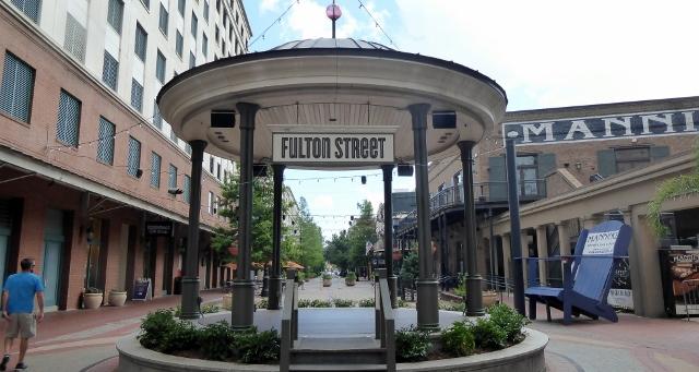 We stroll Fulton Street....