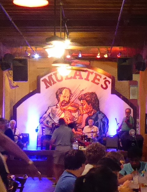 This is a fun place with a great Zydeco Band.