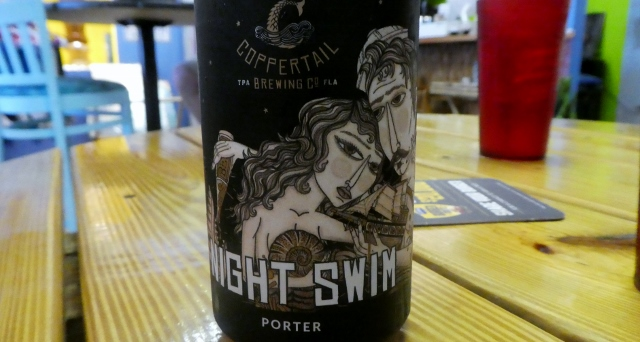 Night Swim is brewed in Tampa.