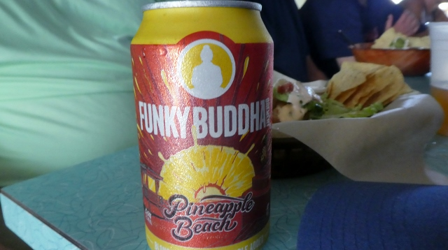 Now this looks like a refreshing beer.  Funky Buddha meets Pineapple Beach.