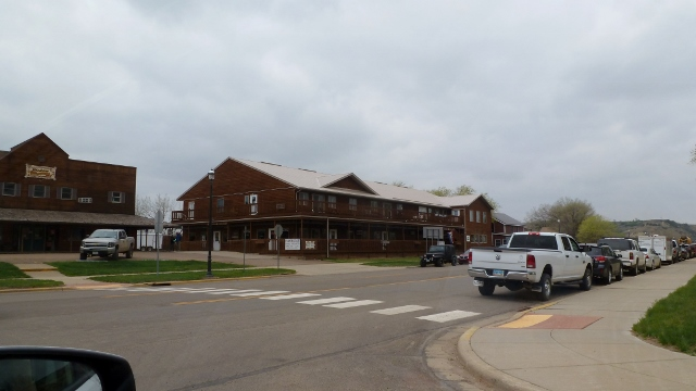 Medora is not a large town....