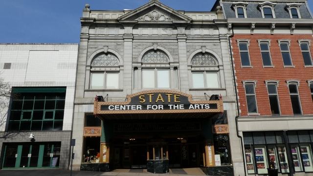 The State Theater provides live performances and concerts.