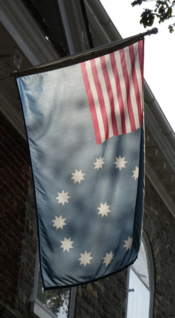 The original Easton flag remains in use.